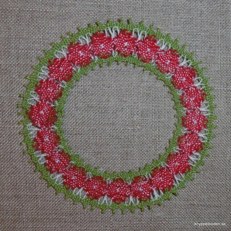 Lingonkrans  7,5x7,5 cm