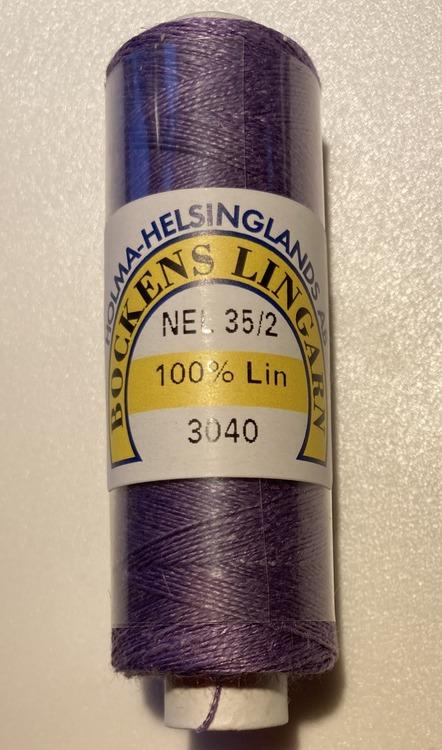 Bockens knyppelgarn 35/2 syrén 3040, 12,5 gr/rle