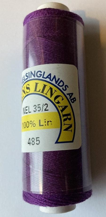 Bockens knyppelgarn 35/2 purpurlila 485 12,5 gr/rle