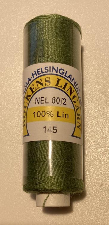 Bockens knyppelgarn 60/2 mossgrön 145 12,5 gr/rle