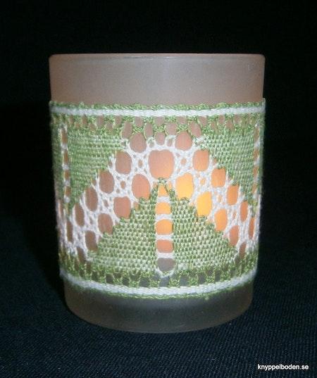 Lappkåtor bredd 4,5 cm, avsedd för ljusglas 5,5-6 cm diameter