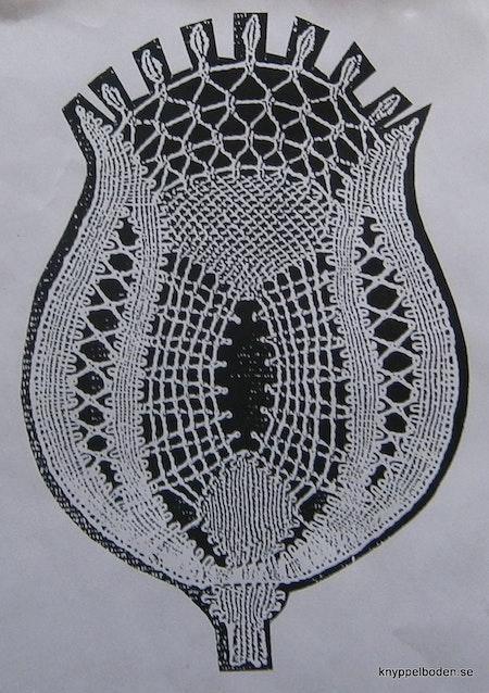 Blomkalk 13,5x9 cm
