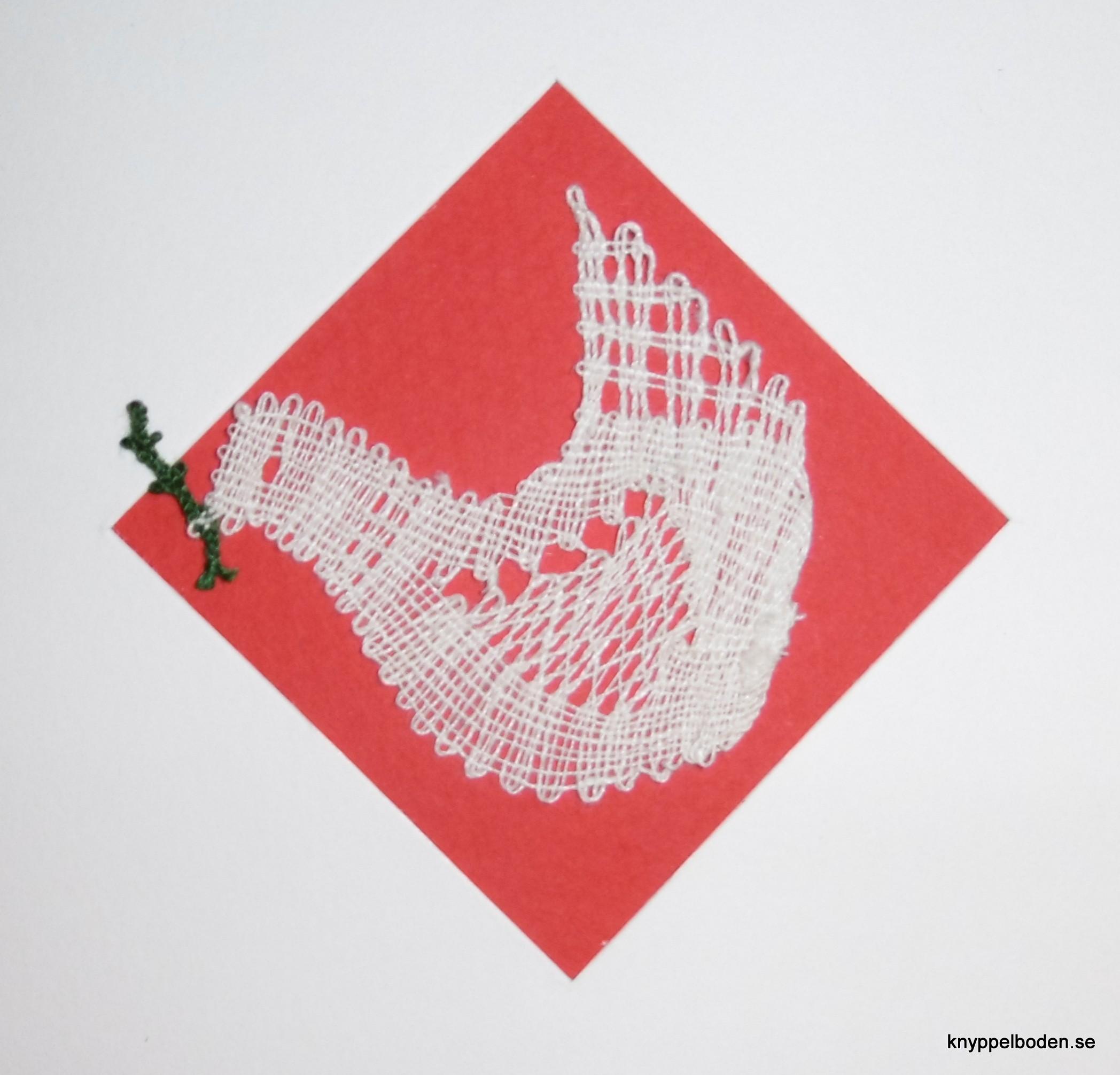 Den lilla fredsduvan 5x5 cm