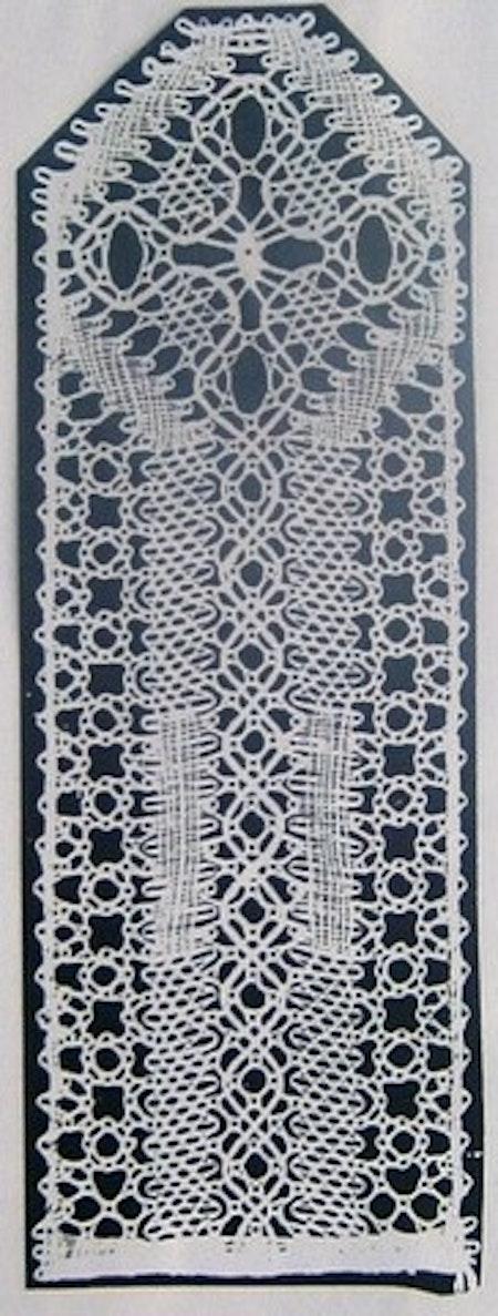 Kyrkfönster 3,5x9,5 cm