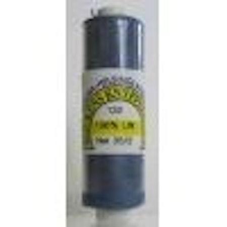 Bockens knyppelgarn 35/2 132 gråblå 12,5 gr/rle