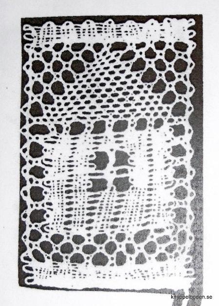 Motiv nr 10, Huset,  2,2x3,4 cm, Ulla Fagerlin