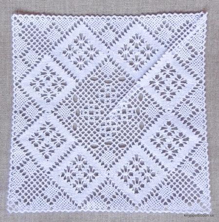 Mormorsruta 17x17 cm