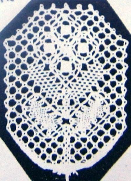 Motiv nr 5, 2,9x3,8 cm, Hildur Kratz