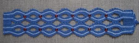 Amalia x 2:   4,5x18 cm (armband)