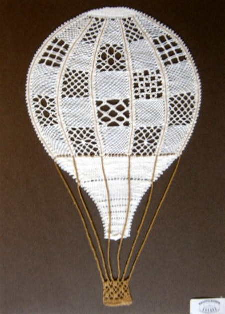 Luftballong 16x27 cm