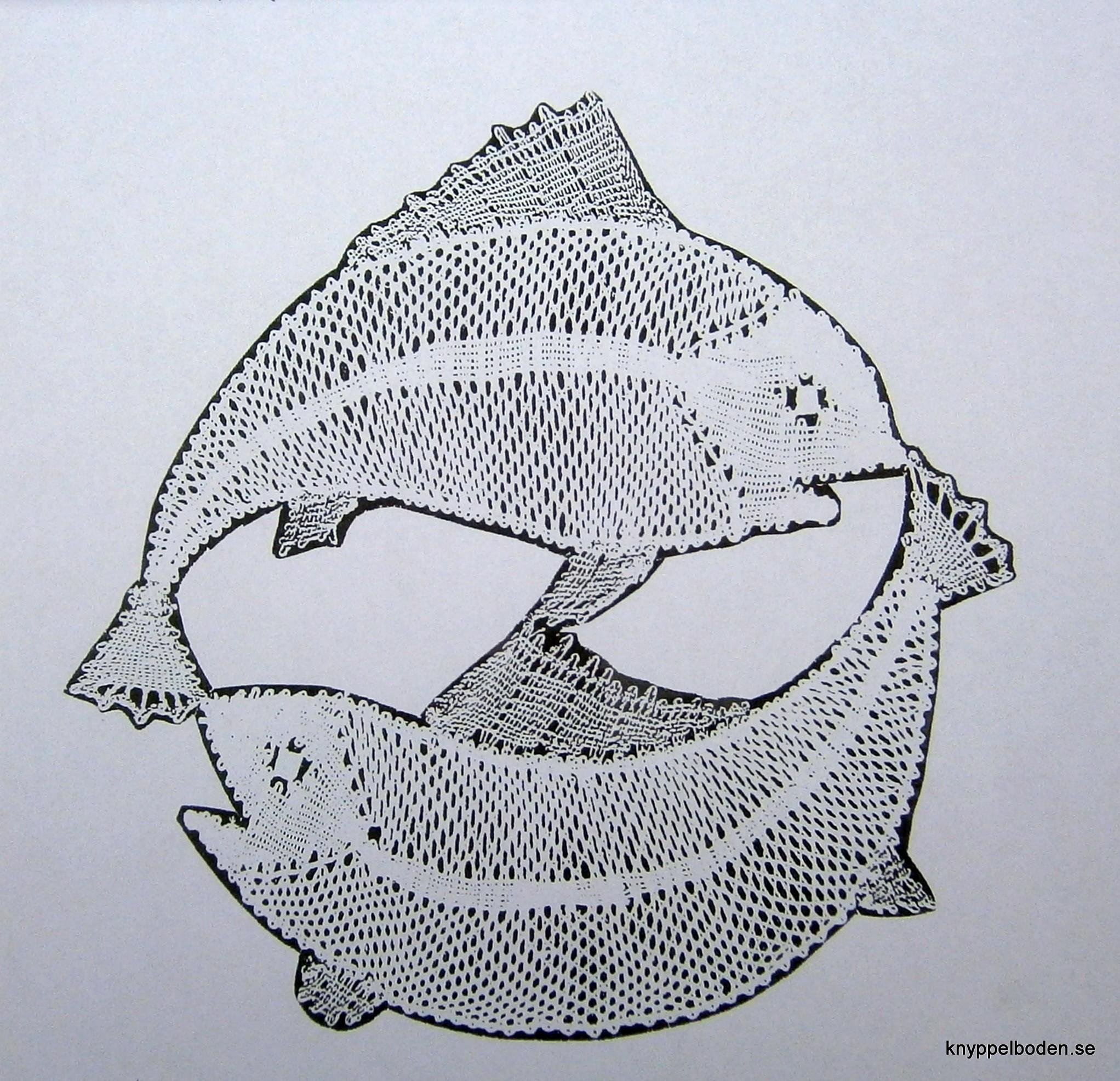 Fiskarna 16,2x16,8 cm
