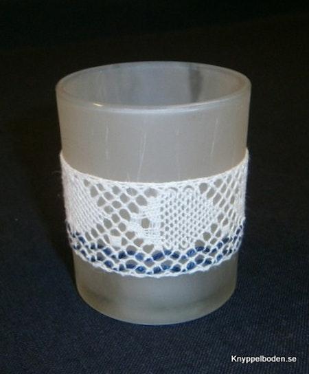 Fiskstim bredd 3,5 avsedd för ljusglas med 5,5-6 cm diameter