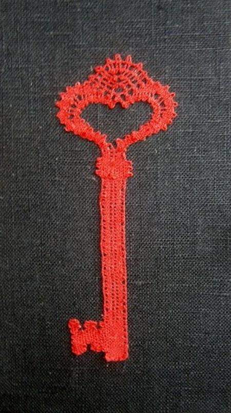 Nyckel 4x10,5 cm