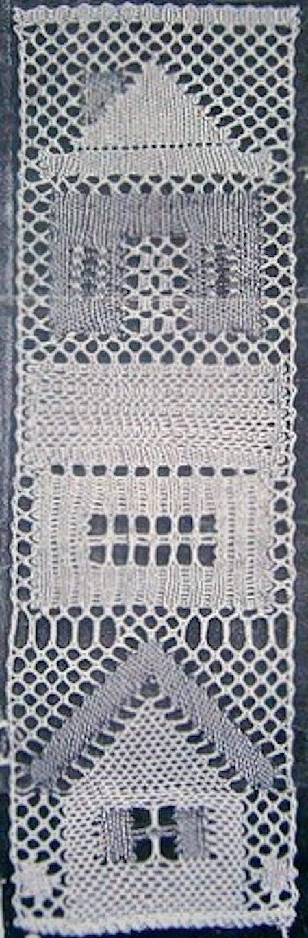 Småstad del III 6,5x20,5 cm