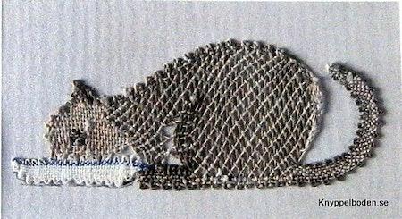 Kissekatt 3x7,5 cm