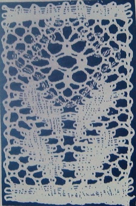 Motiv nr 12, 2,2x3,4 cm Ulla Fagerlin