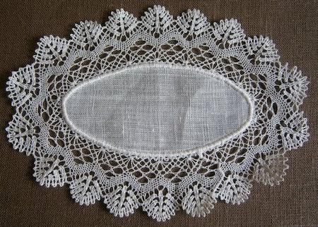 Sockertopp oval 16x11,5 cm