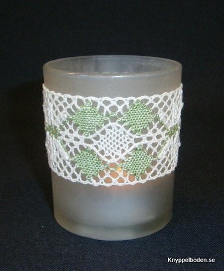 Stjärnöga bredd 4 cm, avsedd för ljusglas med 5,5-6cm diameter.