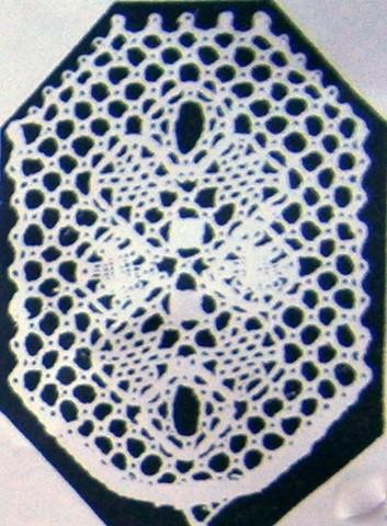 Motiv nr 3, 2,9x3,8 cm, Hildur Kratz