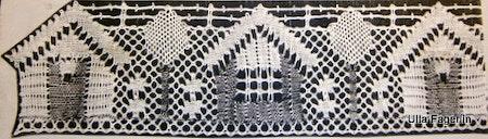 Sjöbodar  längdspets, bredd 6,5 cm