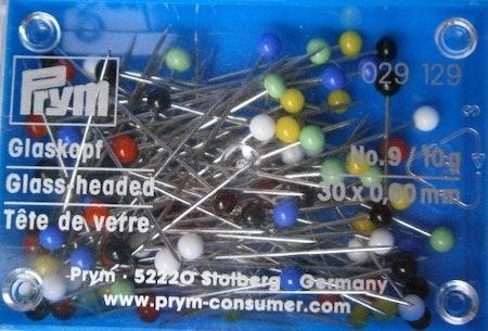 Nål med glashuvud 30x0,6 mm 10g