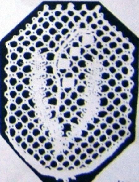 Motiv nr 6, 2,9x3,8 cm, Hildur Kratz