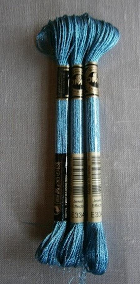 E 334 Jewel Effects Ljusblå