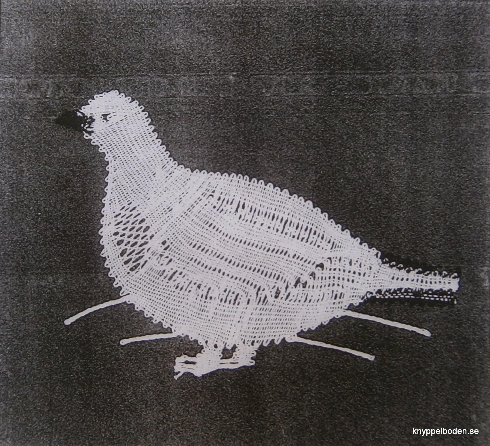 Snöripa 7,5x11 cm