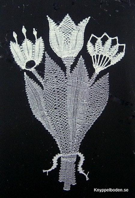 Fantasibukett 17,5x11,5 cm