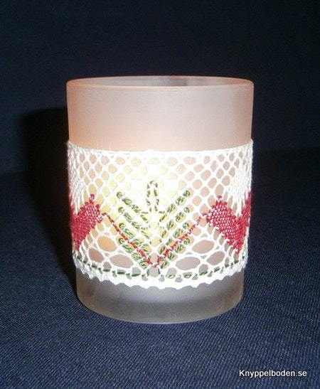 Julgranar bredd 4 cm, avsedd för ljusglas 5,5-6 cm diameter