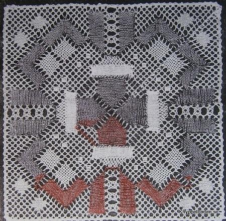Tomtar i kvadrat 18,5x18,5 cm