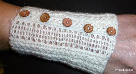 Gallret bredd 2 cm, längd 12 cm Handledsvärmare
