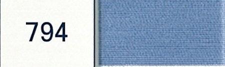 DMC 80 794 mörk ljusblå