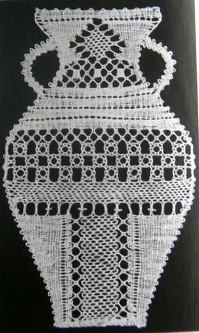 Amfora 8,5x13,5 cm