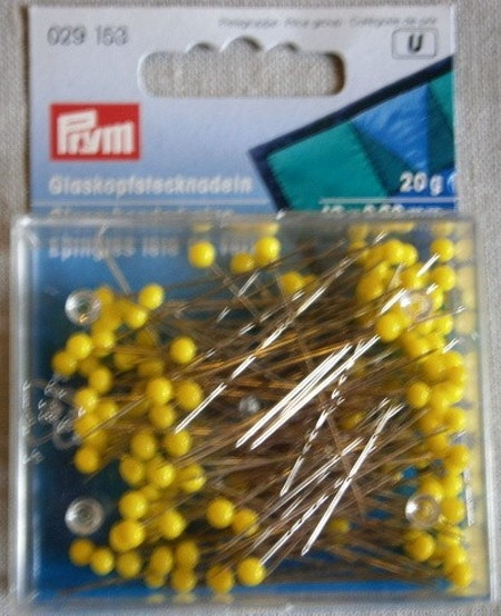 Nål med glashuvud 43x0,6 mm 20g