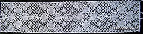 Gyllenlack 4,5x19,5 cm avsedd för ljusglas