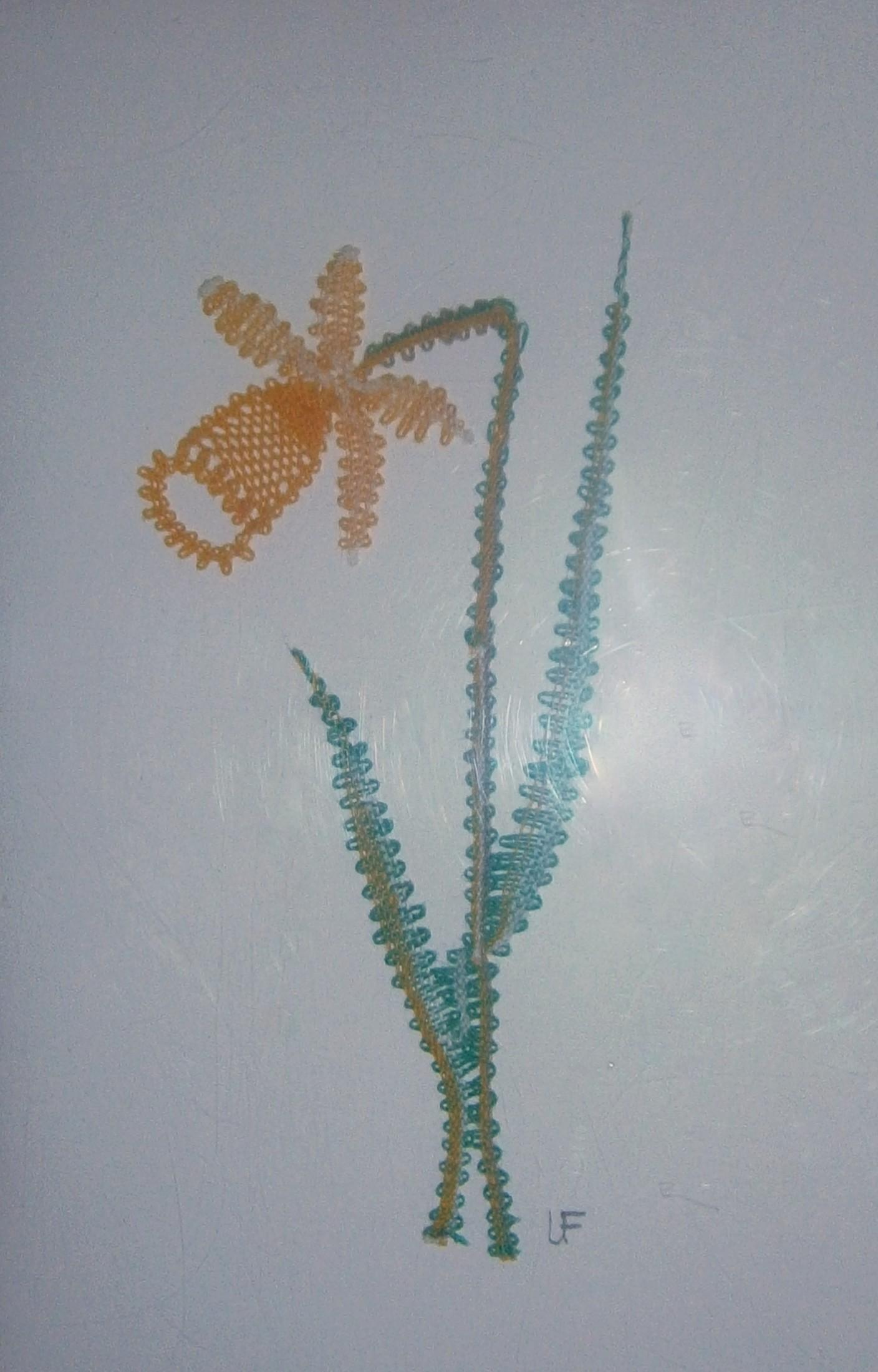 Påsklilja 5x11 cm