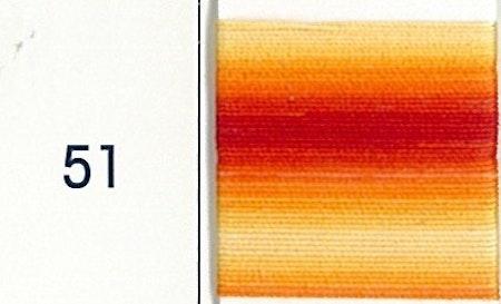 DMC 80 51 ombré gul-orange