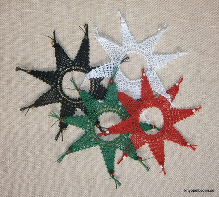 Stjärnan  2015-års julmönster,  diameter 8,5 cm