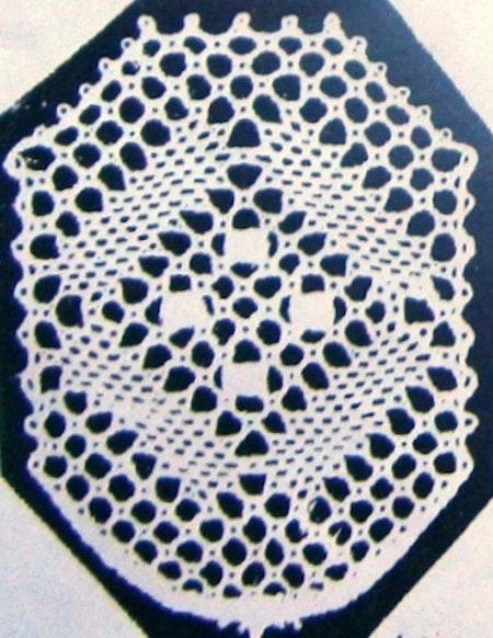 Motiv nr 4, 2,9x3,8 cm, Hildur Kratz