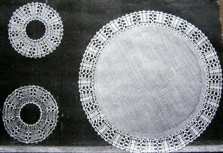 Cikoria diameter 15,5 cm inklusive ljusmanschett diameter 6 cm