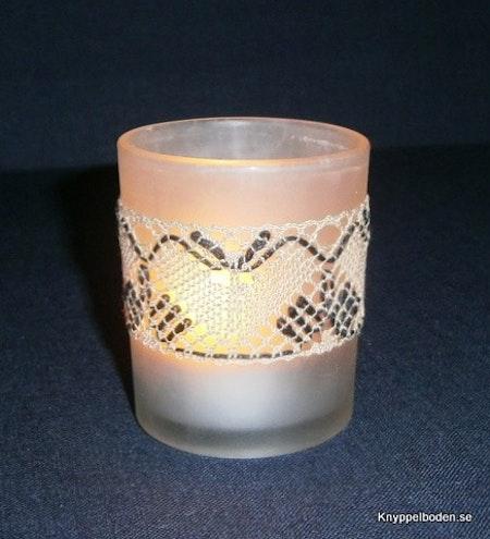 Fladdermöss bredd 3,5 cm avpassad för ljusglas med 5,5 - 6 cm diameter