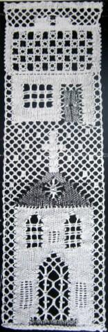 Småstad del II 6,5x20,5 cm