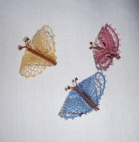 Fjäril  2x4 cm