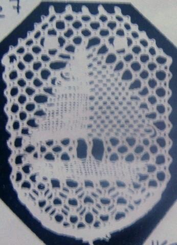 Motiv nr 7, 2,9x3,8 cm, Hildur Kratz
