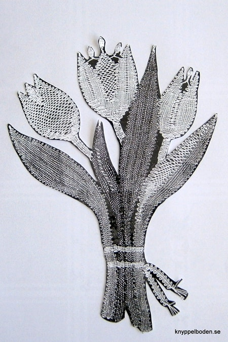 Tulpanbukett 14,5x19 cm
