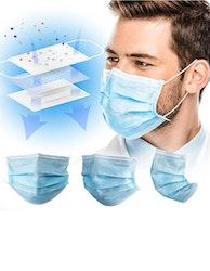 Medicinskt munskydd Typ IIR CE-märkta (50-pack)