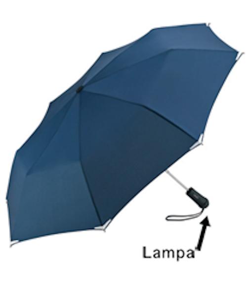 Säkerhetsparaply (med lampa)