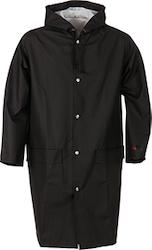 Klassisk regnrock svart