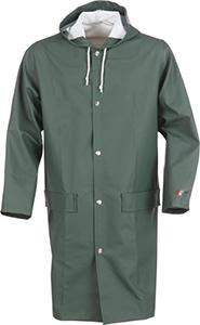 Klassisk regnrock grön